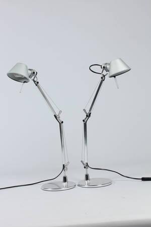 De Lucchi  G Fassina. Tolomeo Micro arkitektlamper