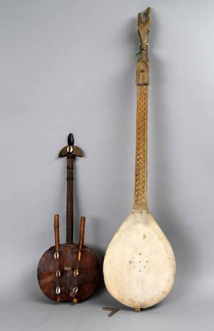 To strenginstrumenter afrikanske 2