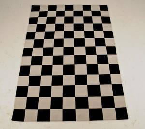 Modern art  håndknyttet tæppe, 173x245 cm.