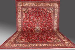 Salsmatta, persisk Arak, 485 x 345 cm.