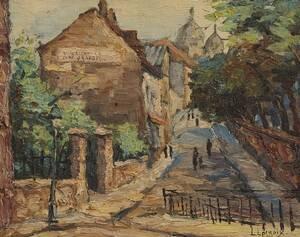 Oljemålning, L Lacroix