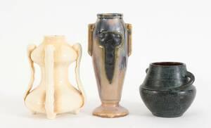 Vaser 3 st, bl a Rörstrand 1900-talets början