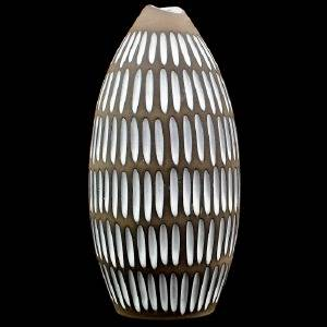 VAS, keramik, 1950-tal, 2132 ur Negro, INGRID ATTERBERG för Upsala Ekeby
