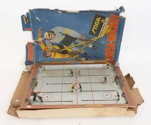 Bordshockeyspel, Tumba-Hockey, Stiga