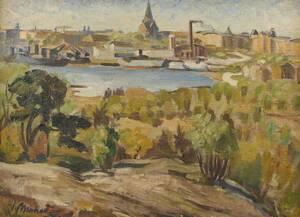 Oljemålning, Valdemar Mohed 1902-1958