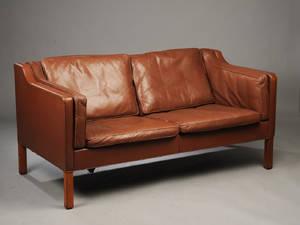 Børge Mogensen 1914-1972, to-pers sofa model 2212