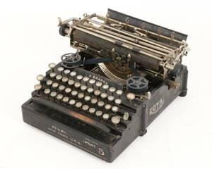 Skrivmaskin, Royal, 1900-talets första hälft
