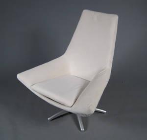 Moderne design hvilestol - Creme