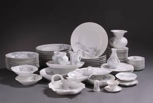 Pomona service af porcelæn. Bavaria Tirschenreuth. 81