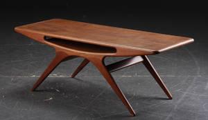 Johannes Andersen. Sofabord, teaktræ