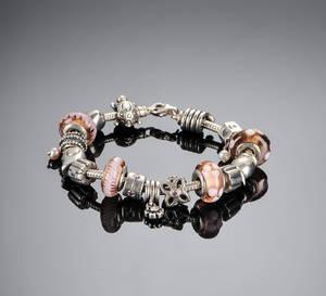 Armbånd med Charms, Pandora