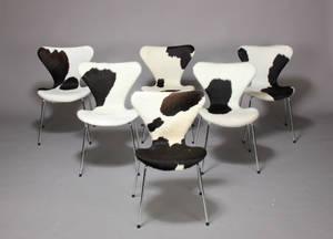 Arne Jacobsen. 7er stole, koskind 6