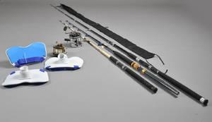Samling af fiskestænger og hjul 8