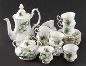 Kaffeservisdelar, Trillium, Royal Albert