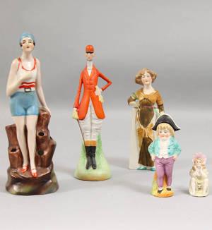 Samling figuriner 1900-talets första del 5