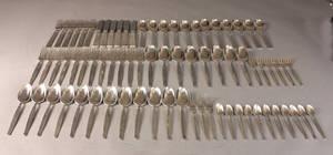 Champagne sølvbestik og Capri pletbestik 76