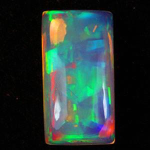 Uindfattet opal - ca. 3.33 ct