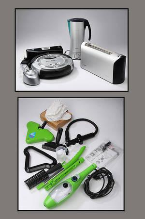 Brødrister, blender, robotstøvsuger og dampmoppe 4