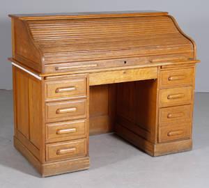 Skrivbord med jalusi ek sekelskiftet 1900
