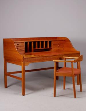 Andreas Hansen, Skrivbord med stol