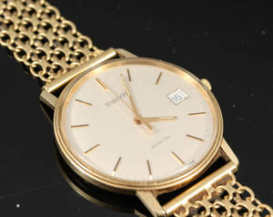 Tissot seastar armbandsur med armband guld 18 k