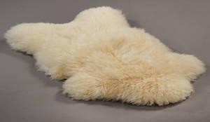 Giant sheep. Fåreskind af engelsk økologisk opdræt. Str. XXL. Farve Elfenben