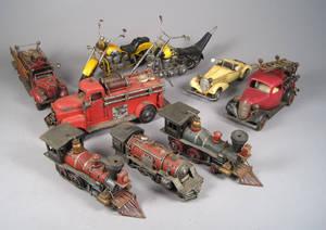 Samling legetøjsbiler mv.  21.årh. 9