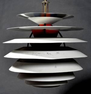 Poul Henningsen. Pendel. Model Kontrastlampe.