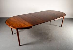 Bord, palisander, 3 iläggskivor, Dansk möbelproducent 4