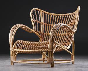 Viggo Boesen. Lænestol, bambus