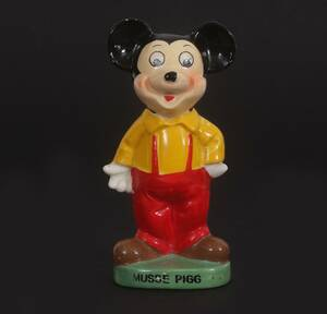 Figurin, Musse Pigg, Walt Disney Productions, omkring 1900-talets mitt