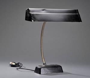 Belmag- Suisse. Bordlampe med flexstamme. 1940 erne