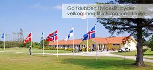 4 green fee gæstekort til Golfklubben Hvide Klit v. Skagen - Til fordel for Soroptimist International
