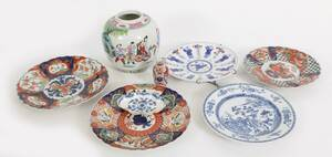 Orientaliskt porslin 8 delar