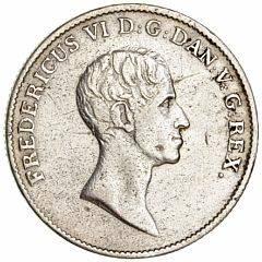 Frederik VI, speciedaler 1820 FF, H 26D