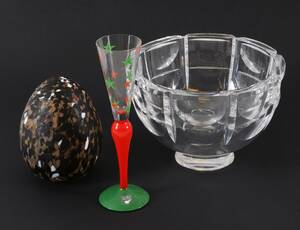 Glas 3 delar