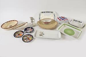 Parti keramik och porslin