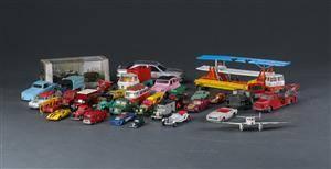 Tekno m.fl. Samling legetøjsbiler