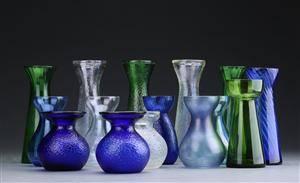 HolmegaardFyens Glasværk m.fl. samling hyacintglas 15 Denne vare er sat til omsalg under nyt varenummer 3825846