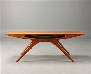 Johannes Andersen, soffbord Smilet  Smile table