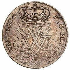 Norge, Frederik IV, krone 1725 HCM, NM 4, H 4