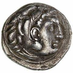 Antikkens Grækenland, Alexander III, den Store, 336 - 323 f.Kr., Drakme, Slået af Antigonos I Monophtalmos, 320 - 301, 4,10 g, Müller 254