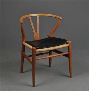 slutpris f r hans j wegner biblioteksbord. Black Bedroom Furniture Sets. Home Design Ideas