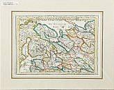 6 kartor över bl.a. Ryssland, Polen, Kina