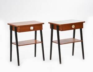 Sängbord ett par, 195060-tal