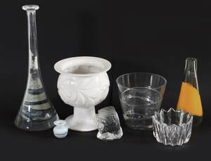 Parti glas och keramik