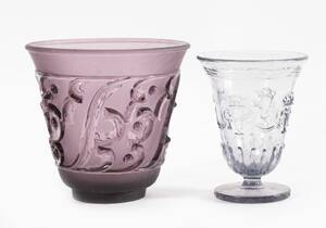 Vaser 2st, Edvin Ollers för Elme Glasbruk