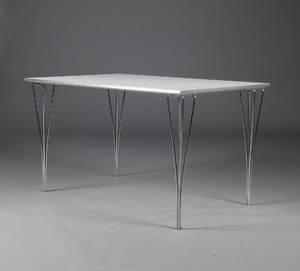 Piet Hein  Bruno Mathsson. Rektangulært spisebord Denne auktion er annulleret2016774