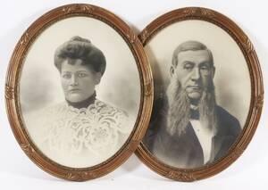 Ramar ett par, gustaviansk stil, 1900-talets första del