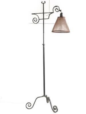 Golvlampa, 1900-talets första hälft